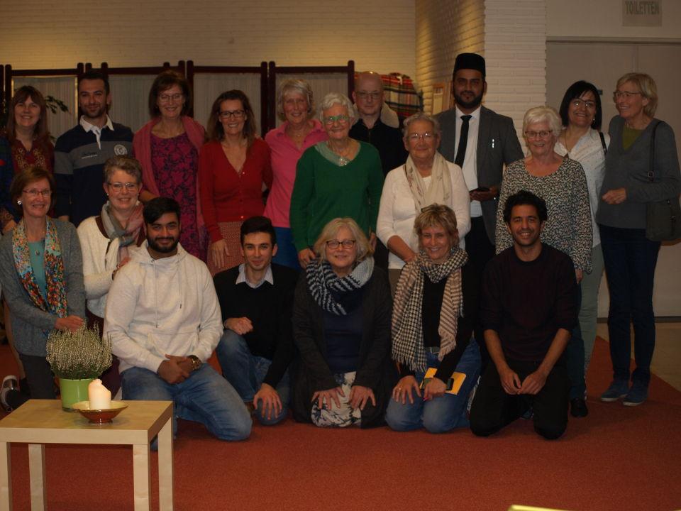 Nieuwjaarsreceptie bij de Ahmadiyya Moslimgemeenschap