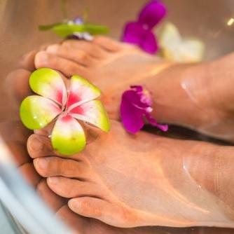 Intuïtieve voetmassage